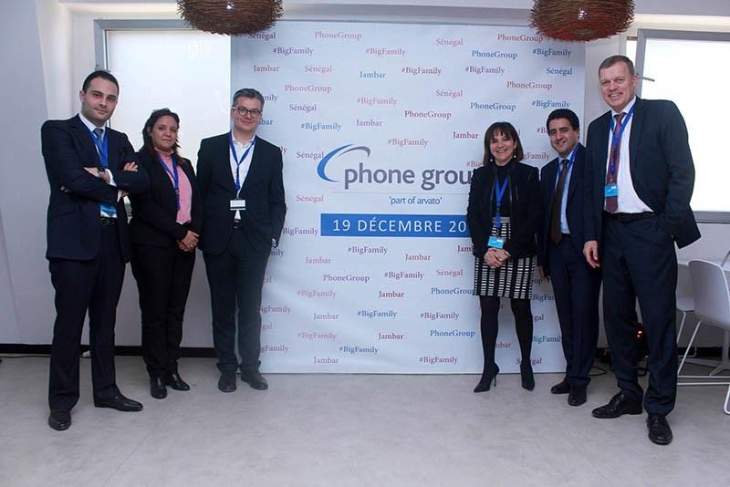 Phone Group Inaugure Jambar Son 2e Site à Dakar : 1 400 Emplois à La Clé