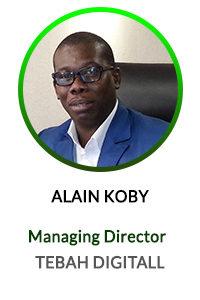 ALAIN KOBY MANAGING DIRECTOR TEBAH DIGITAL