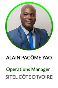ANGE ALAIN YAO - OPERATION MANAGER SITEL ACTICALL COTE D'IVOIRE