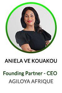 ANIELA VE KOUAKOU- Directrice Générale de AGILOYA AFRIQUE