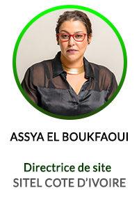 ASSYA EL BOUKFAOUI - DIRECTRICE SITE SITEL ACTICALL COTE D'IVOIRE