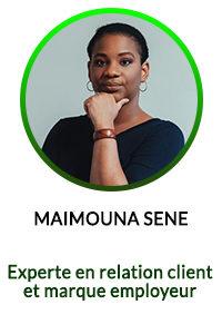 MAIMOUNA SENE - Experte en relation client et marque employeur