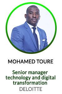 MOHAMED TOURE Senior Manager - Technology Digital Transformation DELOITTE