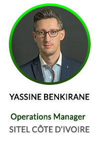 MOHAMED YASSINE BENKIRANE - OPERATION MANAGER SITEL ACTICALL COTE D'IVOIRE