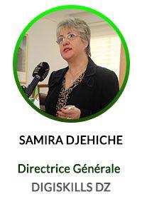 SAMIRA DJEHICHE DIRECTRICE GÉNÉRALE