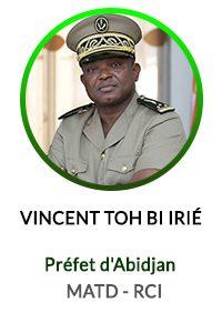 VINCENT TOH BI IRIE - PREFET D'ABIDJAN