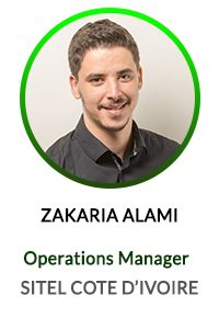 ZAKARIA ALAMI - OPERATION MANAGER SITEL COTE D'IVOIRE